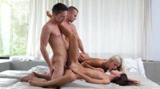 مجموعة الجنس المتشددين مع ديدو وجينا