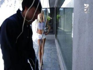 المكسيكي كابل الرجل الملاعين titted كبيرة الفتاة قرنية !!!الحبر اسكيمو