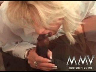 الأفلام MMV بي بي سي سخيف زوجة الشرج ناضجة