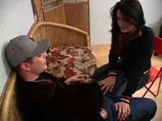 الغش زوجته مع صديقتها حرة الاباحية والجنس الفيديو امرأة سمراء، هواة، اللسان، نائب الرئيس
