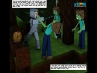 3D كوميدي: العالم minecrack يروي 26