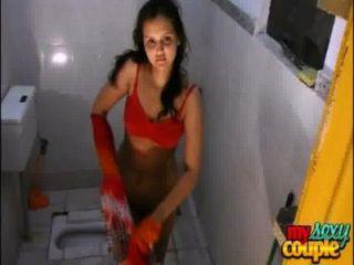 الهندي سونيا الهواة زوجين والمتشددين الجنس مشمس في الحمام