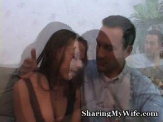 الديك زوجة الجياع يأخذ الرجل الجديد