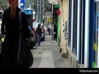 الحصول على التقطت فاتنة مثير في الشوارع لاللعنة جيدة 33