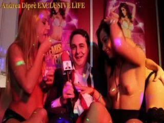 حزب العربدة من ثلاث فتيات مفرغة مع dipr اندريا