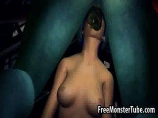 الأزرق العسل 3D الشعر تمتص والملاعين monsternhostility عالية 2