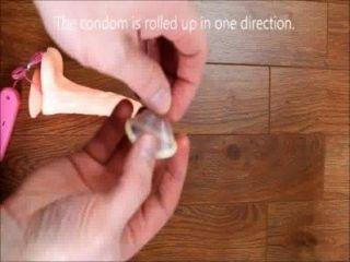 كيفية وضع على الفيديو الواقي الذكري كيفية وضع الواقي الذكري على كيفية الواقي الذكري