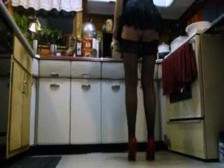 شخ أرضية المطبخ