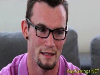 محب طرفة عين الاختبار الشرج في gaycastings