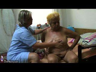 أولداني الدهون الجدة الكبيرة الجنس مع شاب