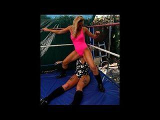 مصارعة الإناث الجديدة والمختلطة المصارعة إصدارات الفيديو حجم 6