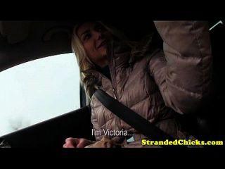 الهاوي هيتشيكر تشيتس على لها فرنك بلجيكي مع سائق