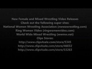 مصارعة الإناث الجديدة والمختلطة المصارعة حجم الافراج عن الفيديو 7