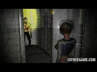 شورت هيرد 3d شقراء فتاة يحصل مارس الجنس بواسطة ل غيبوبة