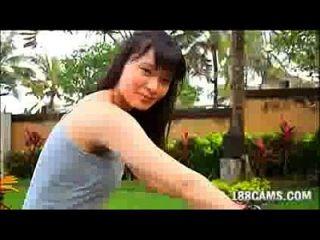 ميزوكي هوشينا مفلس أمب قفزة غير عارية