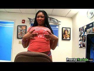 حار أسود في سن المراهقة تجميل الوجه كارمن مايكلز 1 2.2