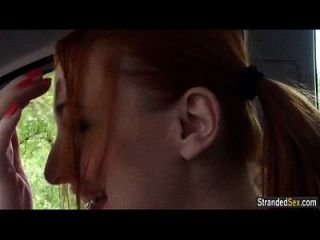 أحمر الشعر المشجع إيفا بيرجر الملاعين غريب إلى ل ركوب