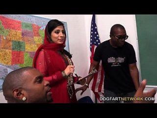 نادية علي يتعلم التعامل مع حفنة من الديوك السوداء