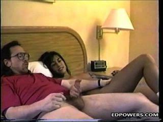 خجول في سن المراهقة فتاة الحصول على دوجي أسلوب مع إد بويرس