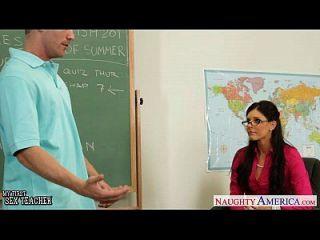 صغير تيتد معلم الهند الصيف اللعنة لها شاب طالب