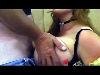 بامبي بليز \ حلمة الثدي اللعنة و اللسان الفيديو مع ضخمة الثدي بامبي ب