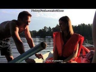 ثلاثة رجال في قارب (أن أقول شيئا عن التقاط فتاة) المشهد 1