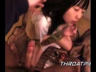 0018 اليابانية تلميذة يحصل نائب الرئيس شوفيد في لها الحلق