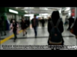اليابانية تلميذة بواردز قطار ل حقيقي تشيكان تجربة