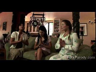 بيرف الملاعين 3 زوجات في ما يبدو لا أن يكون زس محاكاة ساخرة من الحب الكبير
