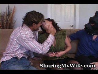 زوجة شقي مع خاضعة هوبي