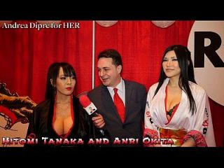 هيتومي تاناكا مع أنري أوكيتا: اللسان الدرس ل أندريا diprè