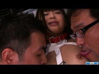 تشيكا إيشيهارا لطيف في سن المراهقة مسمر في رائع الآسيوية تحول جنسى