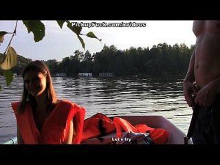 ثلاثة رجال في قارب (أن أقول شيئا عن التقاط فتاة) المشهد 3