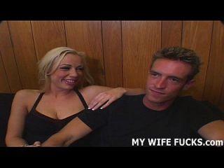 مشاهدة زوجتك الساخنة الحصول على مارس الجنس من قبل رجل جديد كل يوم