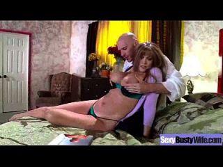 حار إنتيركورس مع كبير البطيخ مثير قرنية زوجة كليب 13