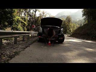 وقحة هبوط والنشوة العصير على الطريق (1)
