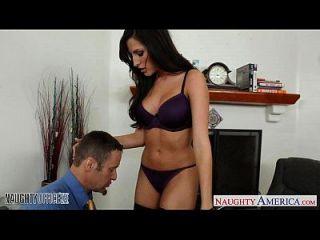 ستوريجيد عسل كورتني كين يحصل مارس الجنس في ال مكتب