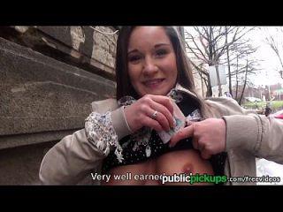 موفوس اليورو في سن المراهقة يحصل التقطت و مارس الجنس