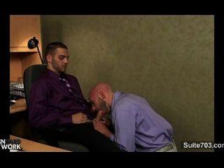 شاذ مثليون جنسيا ضجيجا في المكتب