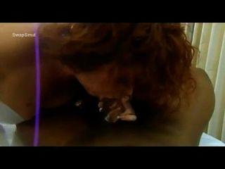 الهواة وقحة بيضاء مع اثنين من الديك الكبير بي بي سي سوبيرسوك الفم الكامل