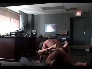 شقراء مكتب الجنس جزء 1