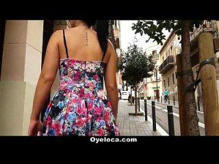 أويلوكا الإسبانية وقحة يحصل كس والحمار مارس الجنس