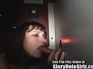 gloryhole فتاة CINDI المص قذرة