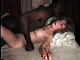 nympho زوجة البيضاء الناضجة مع الحبيب الأسود جزء 1