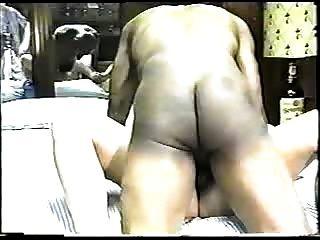 زوجة شقراء الساخنة تتمتع cock.eln أسود كبير