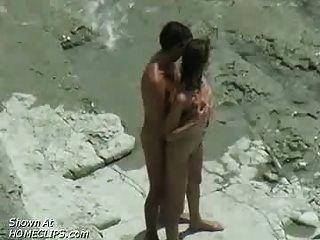 زوجين سخيف: الشاطئ المتلصص الفيديو