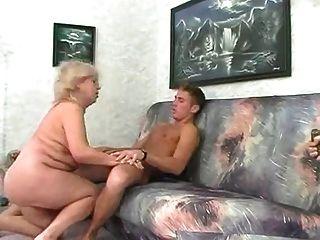 BBW الملاعين الجدة شقراء مع شاب