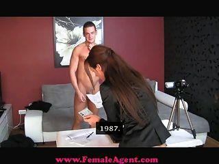 femaleagent عرضي CREAMPIE الصب
