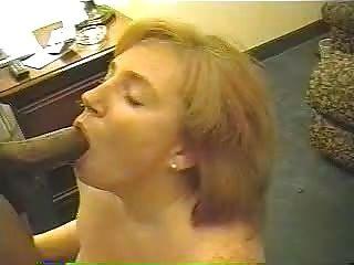 مثير زوجة أحمر يحب أن كبير الديك الأسود # 19.eln