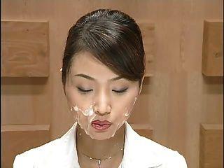 اليابان صحفي مع cumshots.مشهد 1